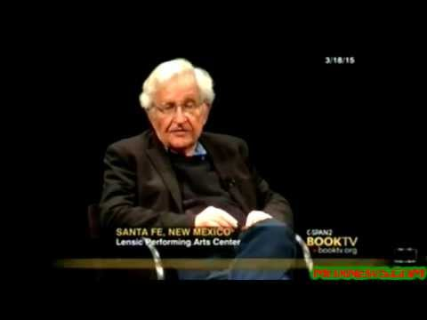 "Noam Chomsky Says Israel ""Is A Violent State! That's In Direct Violation Of International Law!"""