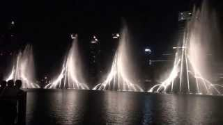 The Dubai Fountain - Whitney Houston -