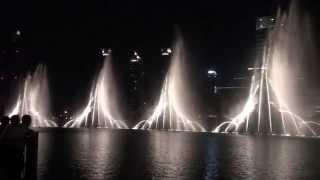The Dubai Fountain - Whitney Houston -
