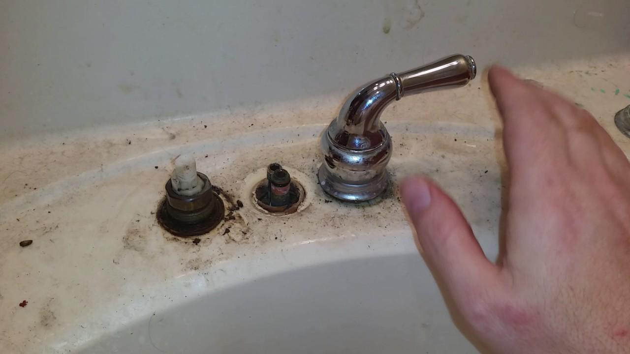 moen monticello faucet removal