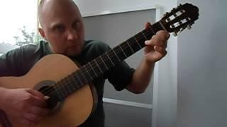 Уроки гитары.Простая красивая мелодия на гитаре