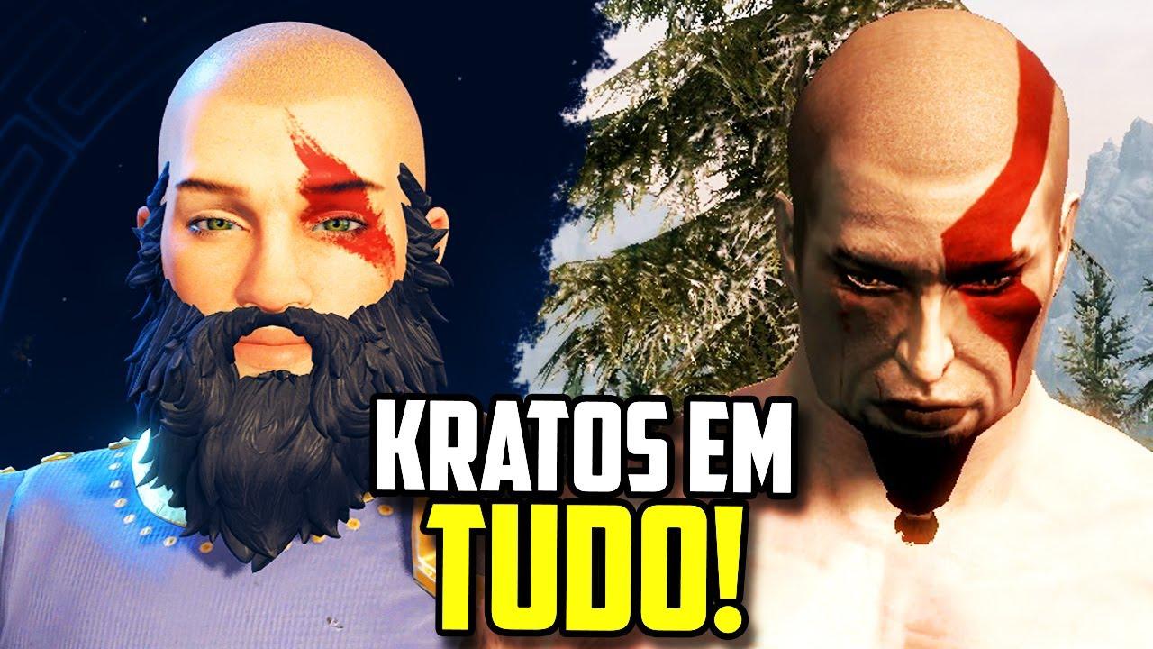 5 GAMES EM QUE DÁ PARA CRIAR O KRATOS!