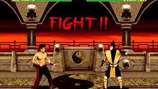 Mortal Kombat 2 - Liu Kang (Sega Genesis) (By Sting)