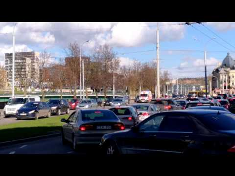 Ambulance responding in Lithuania 24 04 2017