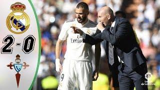 реал Мадрид - Сельта 2-0 - Обзор Матча Чемпионата Испании 16/03/2019 HD