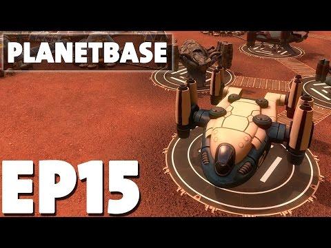 Let's Play Planetbase Episode 15 - RIP Hero Bot - Base Building Management Game