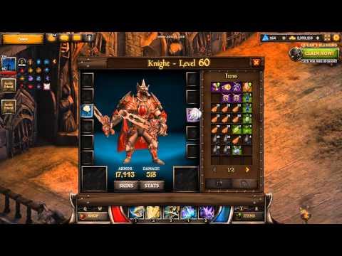 KingsRoad - Knight - Full Legendary Set (level 60)