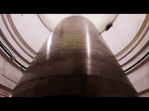 Go inside an INTERCONTINENTAL BALLISTIC MISSILE SILO as a MINUTEMAN 3 is prepared for launch!