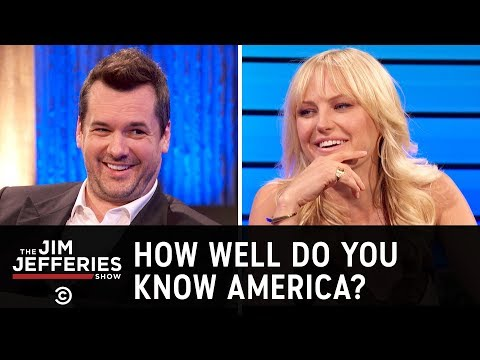 Malin Akerman Takes a Civics Test - The Jim Jefferies Show