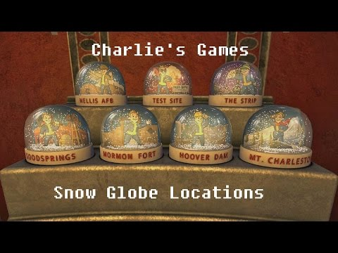 Fallout New Vegas Snow Globe Locations - Including DLC!!