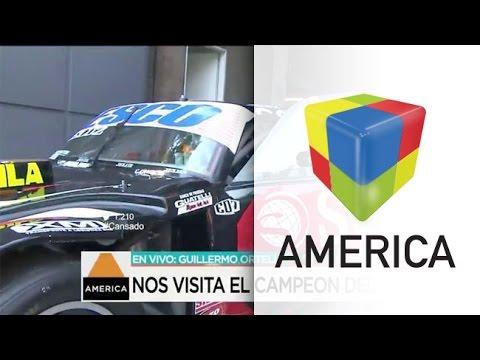 Los secretos del auto campeón del TC: Guillermo Ortelli en los estudios de América