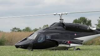 BEAUTIFUL XL RC AIRWOLF FLIGHT SHOW(4. Heli-Scalemeeting Schöneck 2017)