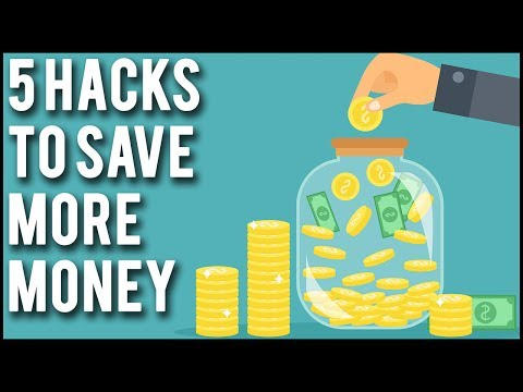 5 Practical Money Saving Hacks – How To Save More Money Each Month!