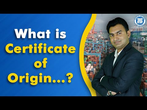 What Is Certificate Of Origin In Export Import Business..?? | Benefits Of Certificate Of Origin