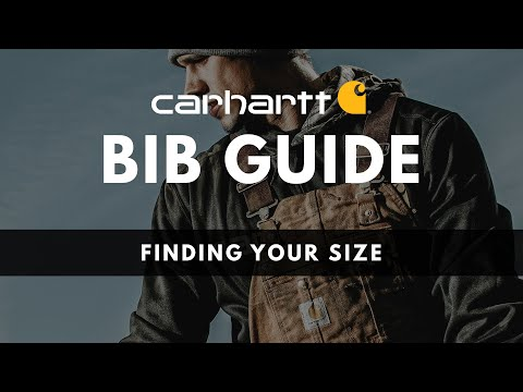 Finding Your Size in Carhartt Bib Overalls