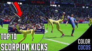 FIFA 18   TOP 10 SCORPION KICK GOALS