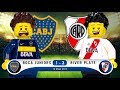 LEGO Boca Juniors 1 - 3 River Plate 2016 / 2017