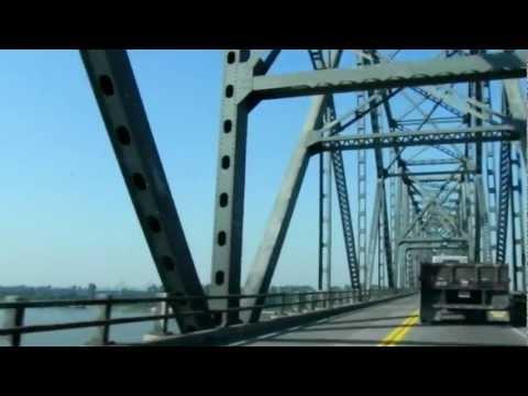 US Highway 51/60/62 Bridge Across Ohio River at Cairo, Illinois