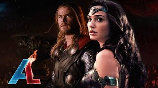 Wonder Woman vs Thor Epic Trailer Supercut (Fan-Trailer)
