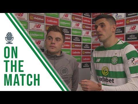 Celtic FC - James Forrest and Tom Rogic #CELHIB reaction