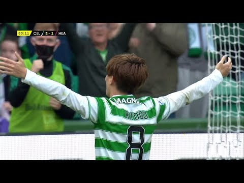 Download Kyogo Furuhashi scores for Celtic in Premier Sports Cup clash against Hearts