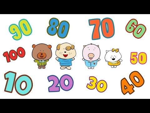 Count 10-100   Count by 10 Song   The Singing Walrus