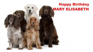 MaryElisabeth   Dogs Perros - Happy Birthday