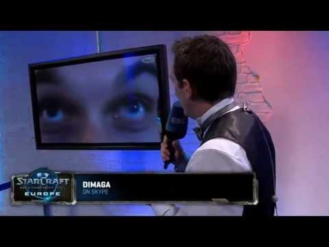 DIMAGA skype call on WCS Europe