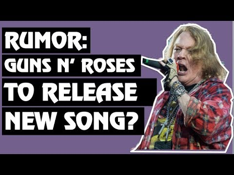 rumor guns n 39 roses to release new song in 2019 youtube. Black Bedroom Furniture Sets. Home Design Ideas