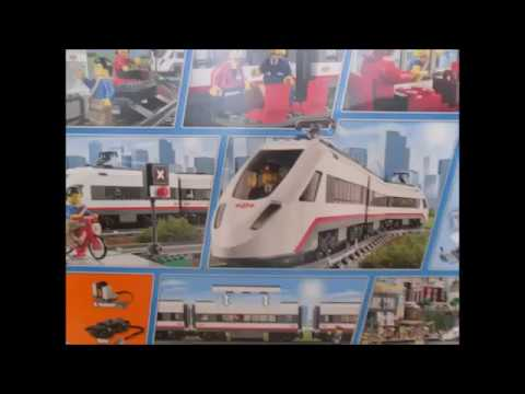 Train Lego City Superszybki Pociąg Lego High Speed Passenger Train