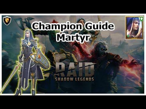 RAID Shadow Legends | Champion Guide | Martyr