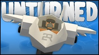 FIGHTER JET BATTLE & STUNTS! (Unturned)