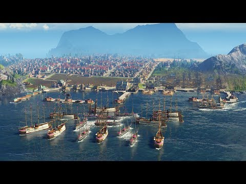 ANNO 1800 | Ep. 17 | Battle for Military Harbor | Anno 1800 City Building Tycoon Sandbox Gameplay