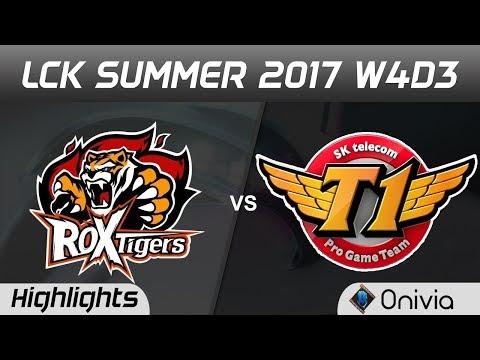 Download Youtube: ROX vs SKT Highlights Game 1 LCK SUMMER 2017 ROX Tigers vs SK Telecom By Onivia