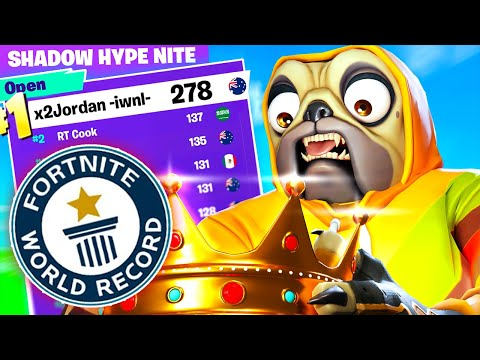 I Set A FORTNITE World Record (Solo Cup Points)
