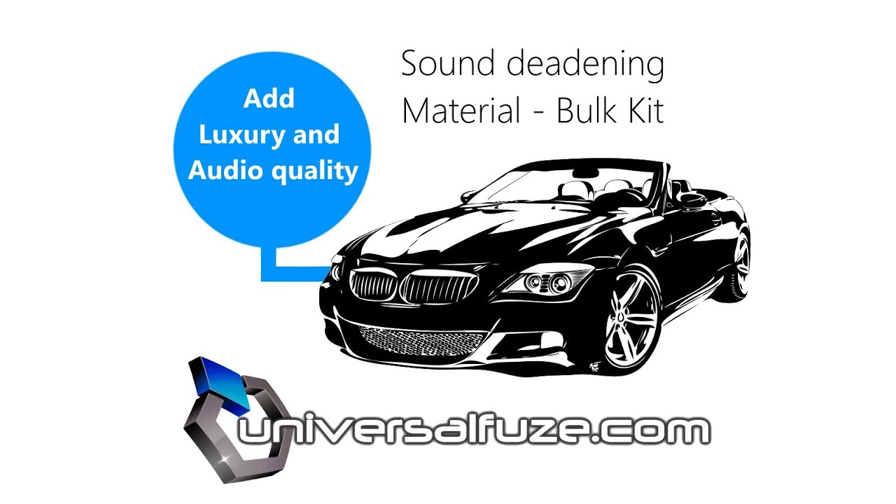 Cheapest And Best Sound Deadening Material Pack