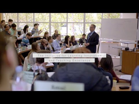 Learning Innovation and Teaching Excellence at INSEAD