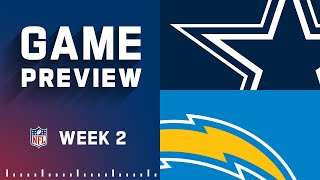 Dallas Cowboys vs. Los Angeles Chargers   Week 2 NFL Game Preview