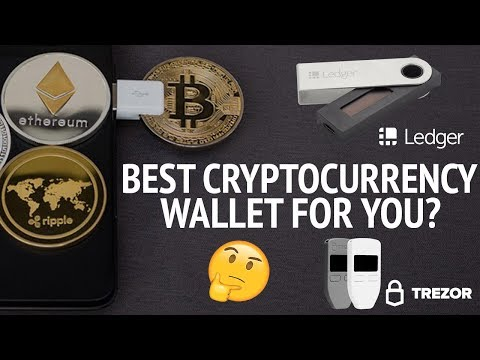Best Cryptocurrency Wallet To Store Your Cryptocurrency? Ledger Nano S vs Trezor Hardware Wallet