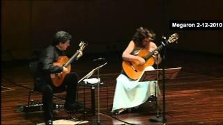 V.Tsitsanis - Aharisti-Giul Bahar -ATHENS MEGARON LIVE - Classical Guitars - E.Boudounis - M.Razi