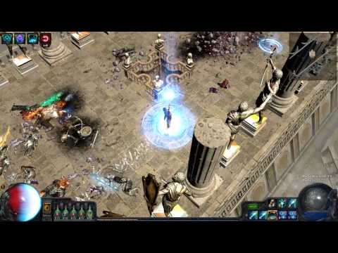 Path of Exile - Hall of Grandmasters Unique Map - first look, full clear 2015 02 03