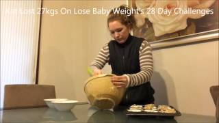 Lose Baby Weight's Real Mum Demonstration - Pear, Date & Zucchini Muffins