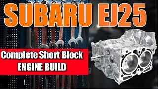 Subaru Engine Building MasterClass - NO ADS OR COMMERICIALS!