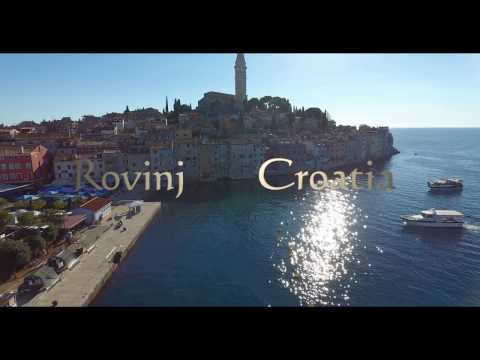 Rovinj city, Croatia filmed with DJI Phantom 4 (4K)