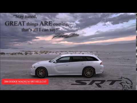 Charger Srt Hellcat >> 2016 Dodge Magnum SRT Hellcat - YouTube