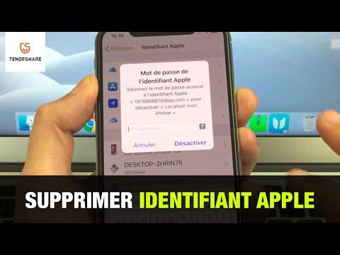 Comment Supprimer Un Ancien Identifiant Apple Sur IPhone Sans Mot De Passe
