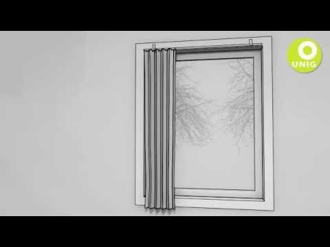 Enormt Gardin - Montering af Gardin - YouTube HS41