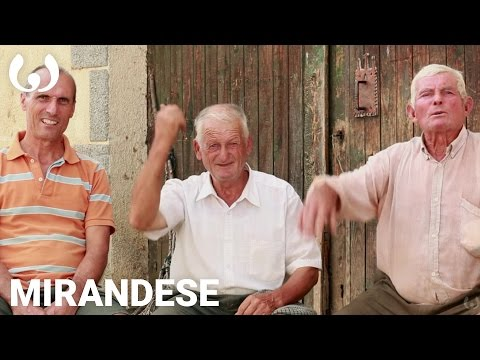 WIKITONGUES: Antônio, Domingos, and Porfirio speaking Mirandese