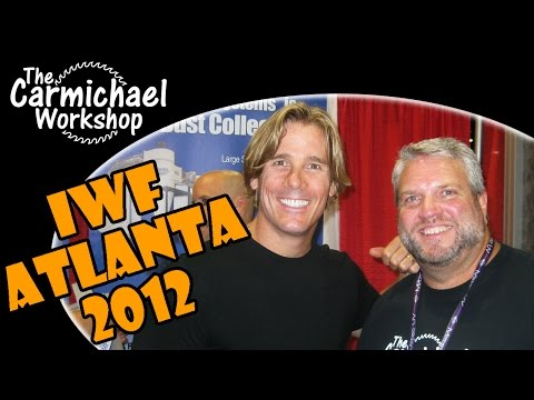 IWF Atlanta Woodworking Show 2012 with The Carmichael Workshop