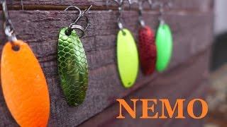 Big Cat Fishing Nemo - бюджетная микро-колебалка (Ловля летом на малой реке)